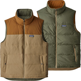 Patagonia Reversible - Chaleco Hombre - beige/Oliva